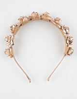 Full Tilt Metallic Flower Headband