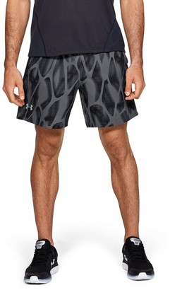 Under Armour Men's UA Launch SW 7'' Printed Shorts