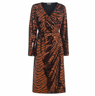 Biba Tiger Sequin Dress