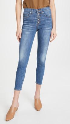 Veronica Beard Jeans Debbie High Rise Skinny Jeans