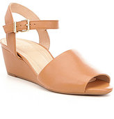 Nurture Hosanna Two-Piece Leather Wedges
