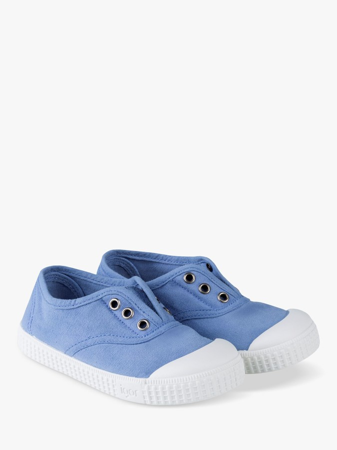 Igor Junior Berri Laceless Canvas Shoes