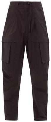 Bottega Veneta Cargo-pocket Cotton-blend Trousers - Black