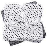 Done by Deer 2-pack Grey Happy Dots Swaddle