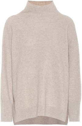 Nanushka Pippa ribbed-knit mockneck sweater