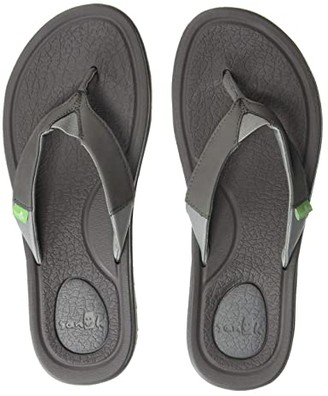 Sanuk Yoga Mat 3 (Black) Women's Sandals