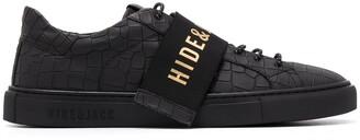Hide&Jack Interchangeable Logo Strap Sneakers