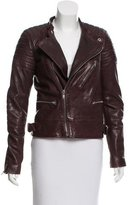 BLK DNM Leather Padded Jacket w/ Tags