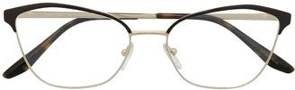 Prada Vintage Style Cat-Eye Glasses