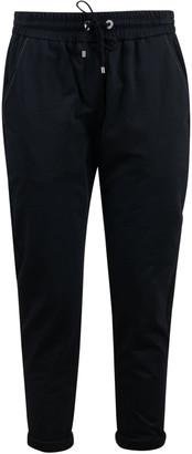Brunello Cucinelli Slim Cropped Track Pants