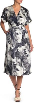 Equipment Tavine Silk Midi Dress