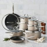 Sur La Table 15-Piece Hard Anodized Bronze Cookware Set