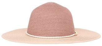 Miss Shop Metal & Braid Trim Floppy Hat