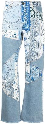 Etro Patchwork Jeans