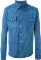 Eleventy suede shirt - men - Suede - 50