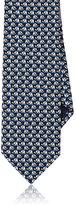 Salvatore Ferragamo Men's Elephant-Print Silk Necktie