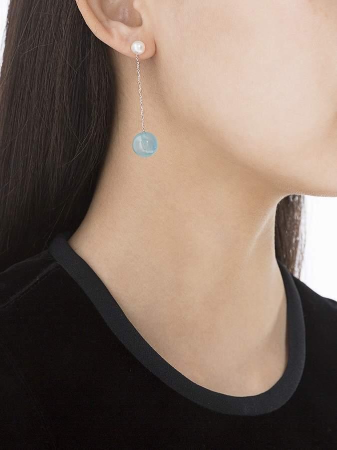 Delfina Delettrez Double side drop earring