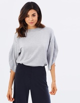 Miss Selfridge Frill Split Sleeve Top