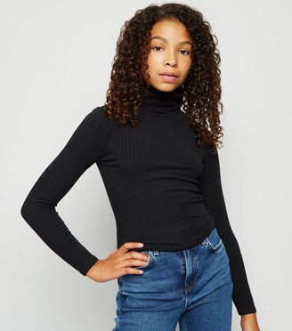 New Look Girls Long Sleeve Roll Neck top