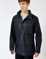 Rains Four Pocket Jacket Blue