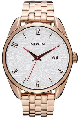 Nixon Unisex Quartz Watch Analogue Display and Stainless Steel Strap A4182183-00