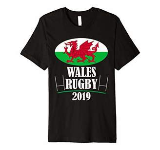 Wales Rugby Team T Shirt Cmon Cymru Flag 2019 Gift