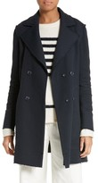 Frame Women's Raw Edge Double Breasted Coat