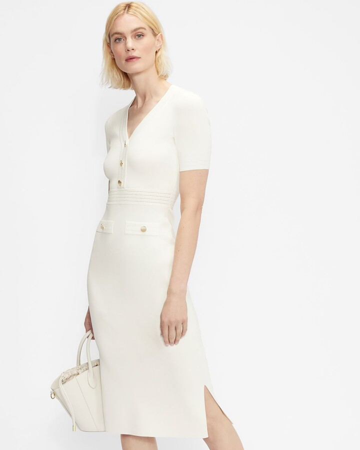 Thumbnail for your product : Ted Baker Knitted Utility Midi Dress