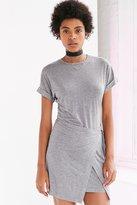 Silence & Noise Silence + Noise Wrap Tee Dress