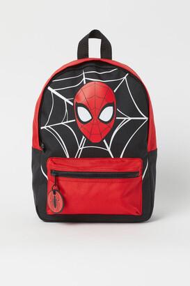 H&M Printed Backpack - Black