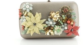 Gucci Broadway Box Clutch Embellished Leather
