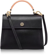 Tory Burch Parker Color Block Leather Small Satchel Bag