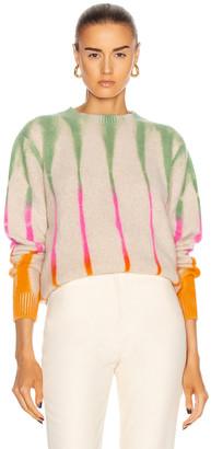 The Elder Statesman Beetle Simple Crew Sweater in Multi | FWRD