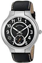 Philip Stein Teslar Men's 42-SB-CSTB Round Analog Display Japanese Quartz Black Watch