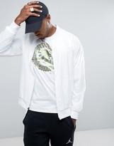 Jordan Nike Wings Muscle Jacket In White 843100-100