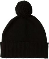 Thumbnail for your product : Johnstons of Elgin Cashmere Pom Pom Hat Black