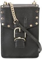 Rebecca Minkoff studded trim clutch bag - women - Leather - One Size