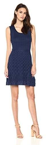 M Missoni Women's Solid Knit Sleeveless Dress