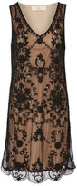 Dorothy Perkins Rise Black embellished vest dress