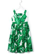 Dolce & Gabbana 'Botanical' banana leaf print dress