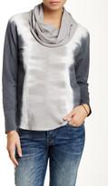 Mono B Tie Dye Cowl Neck Pullover