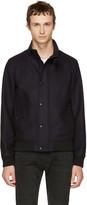 Belstaff Navy Wool Mayesbrook Jacket