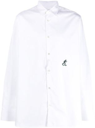 Golden Goose embroidered shirt