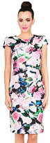 Betsey Johnson Allover Blooms Midi Dress