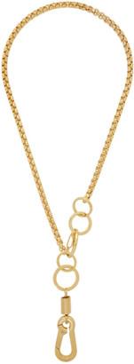 Martine Ali SSENSE Exclusive Gold Myles Necklace