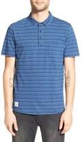 NATIVE YOUTH Stripe Polo Shirt