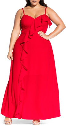 City Chic Catalina Maxi Dress