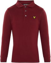 Lyle & Scott Boys Small Logo Long Sleeve Polo