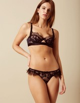 Agent Provocateur Macey Thong Navy And Black
