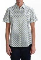 Foxcroft Wrinkle-Free Camp Shirt - Fitted, Short Sleeve (For Women)